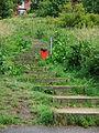Steps, Liquorice Park, Lincoln, England - DSCF1616.JPG