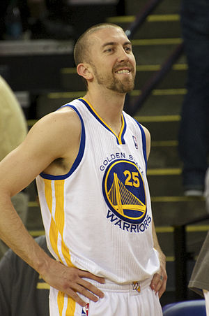 Steve Blake - Blake with the Warriors in April 2014