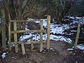 Stile near Timber Wood - geograph.org.uk - 1713913.jpg
