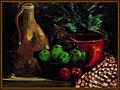 Stilleven met rode en groene appels-Jules Grandgagnage.jpg
