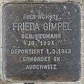 Stolperstein Bamberger Str 22 (Wilmd) Frieda Gimpel.jpg