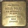 Stolperstein Bernstorffstr 99 für Hella Pulka