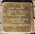 Stolperstein Brunnenstr 114 (Gesbr) Dwore Ziller.jpg