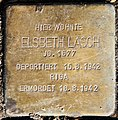 Stolperstein Caspar-Theyß-Str 26 (Schmar) Elsbeth Lasch.jpg
