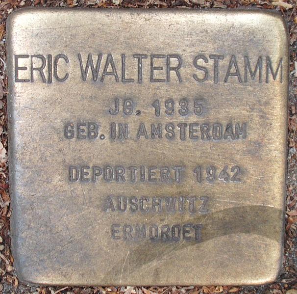 FileStolperstein Eppendorfer Landstraße 14 (Eric Walter