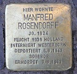 Stolperstein roscherstr 5 (charl) manfred rosendorff
