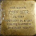 Stolperstein Salzburg, Josef Geer (Getreidegasse 33).jpg