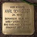 Stolperstein Westfälische Str 70 (Halsee) Karl Schreiber.jpg