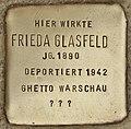 Stolperstein für Frieda Glasfeld (Cottbus).jpg