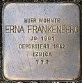 Stolpersteine Krefeld, Erna Frankenberg (Nordstraße 15).jpg