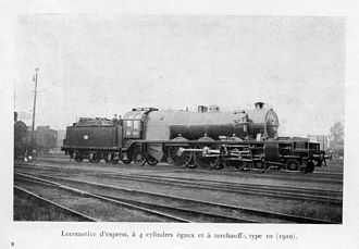L&YR 2-10-0 (Hughes) - Flamme Type 10 pacific
