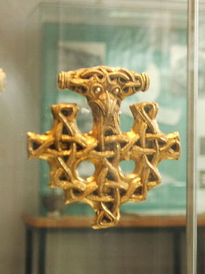 Pomerania during the Early Middle Ages - Viking jewelry, 10th century, found on Hiddensee