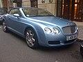 Streetcarl Bentley continental GTC (6437324823).jpg