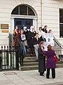 """Student demonstration """"Don't deport Guy Nuke"""" - geograph.org.uk - 699091.jpg"""