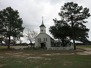 Sublime, Texas - Image: Sublime TX Zion Lutheran Church