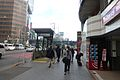 Subway line shibuya station - exit - feb20-2015.jpg