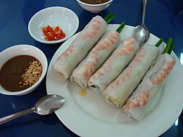 photo of classic spring roll
