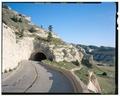 Summit Road, lower tunnel, upper entrance. View S. - Scotts Bluff Summit Road, Gering, Scotts Bluff County, NE HAER NE-11-55 (CT).tif