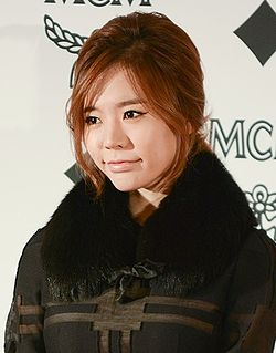 Sunny at MCM SS collection fashion show, 26 November 2013.jpg
