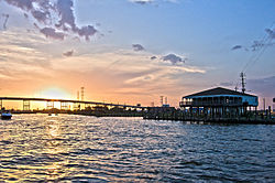 Sunset Over Kemah Bridge.jpg