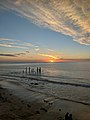 Sunset over the old jetty , Port Willunga.jpg
