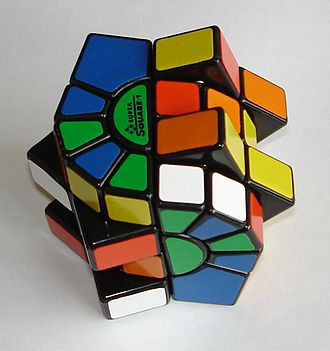 Square-1 (puzzle) - The Super Square One, scrambled