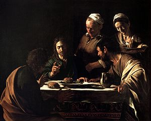 Supper at Emmaus-Caravaggio (1606).jpg