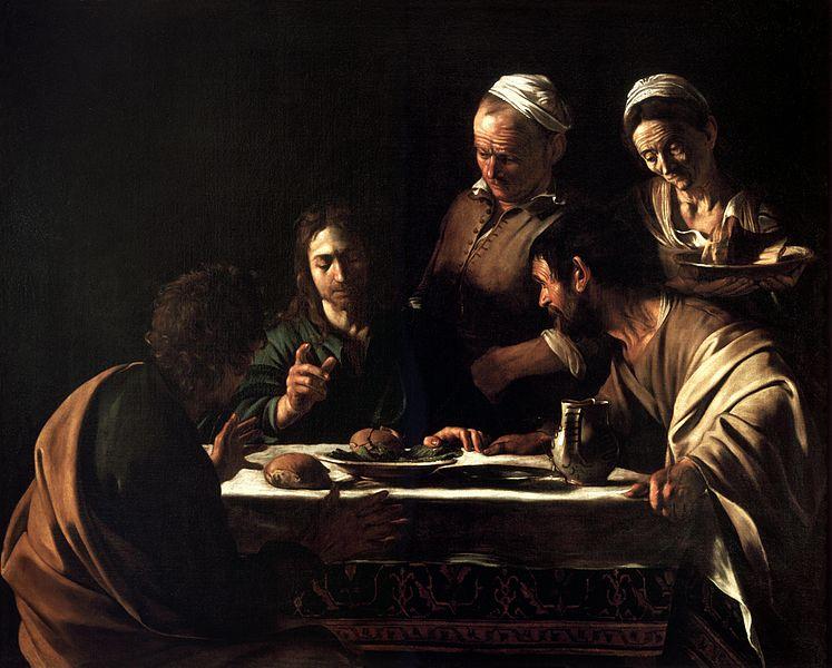 747px-Supper_at_Emmaus-Caravaggio_%28160