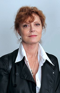 Susan Sarandon at the set of 'American Mirror' cropped and edited