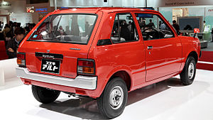 Suzuki Alto - 1979 Suzuki Alto (SS30V) van