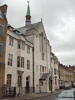 Nordic churches in London - Swedish Church, Harcourt St.