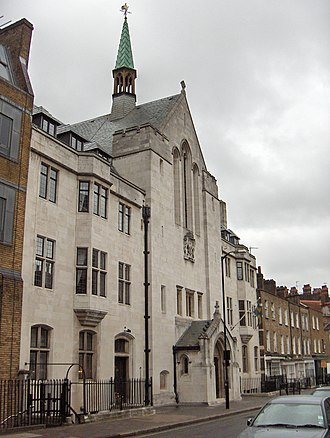 Nordic churches in London - Swedish Church, Harcourt St.
