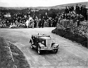 P. A. Ó Síocháin - Image: Sweep Hillclimb 1933, Dungarvan, Ireland