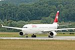 Swiss International Airlines A330 HB-JHF at LSZH (20202278175).jpg