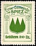Switzerland Spiez revenue 20c 2A.jpg