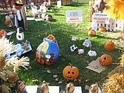 Sycamore IL Courthouse lawn Pumpkin Fest 2007