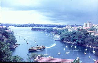 Cremorne Point Suburb of Sydney, New South Wales, Australia