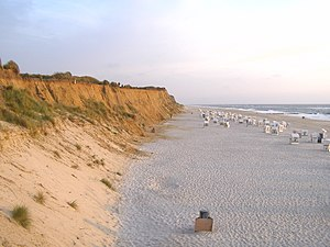Rotes Kliff, Sylt Red Cliff, Sylt