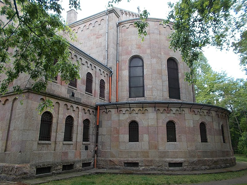File:Szent Vince templom (1936). Neoromán. - Budapest.JPG