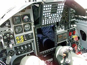Northrop T-38 Talon - T-38C cockpit