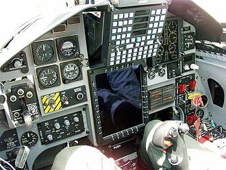 Northrop T-38 Talon - T-38C cockpit