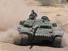 الدبابات الاشقاء من العائلة تي ( انها حقا عائلة محترمة اخري ) - صفحة 6 220px-T-72_Ajeya