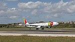 TAP A330-300 rocketing out of Lisbon (46832255284).jpg