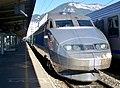 TGV Sud-Est stationné en gare d'Annecy (2007).JPG