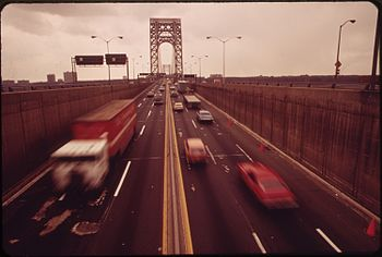 THE GEORGE WASHINGTON BRIDGE - NARA - 549861
