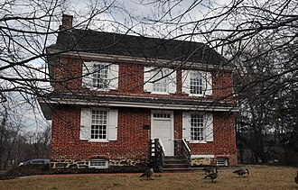 Evesham Township, New Jersey - Thomas Hollinshead House, Marlton