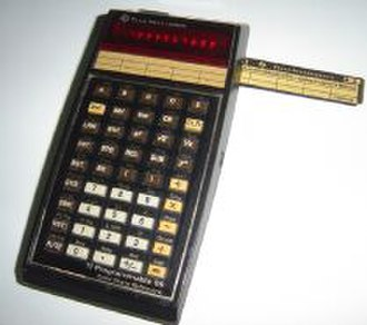 Programmable calculator - Image: TI 59