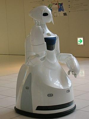 Toyota Partner Robot - Image: TPR ROBINA