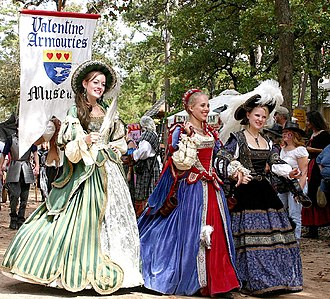Texas Renaissance Festival - Women in costume at the Texas Renaissance Festival