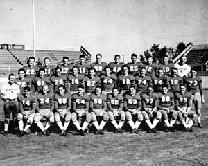 1942 Texas Tech Red Raiders football team - Image: TTU Football 1942